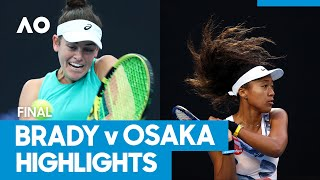 Jennifer Brady vs Naomi Osaka Championship Match Highlights (F) | Australian Open 2021