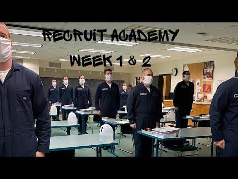 Recruit Academy Week 1& 2