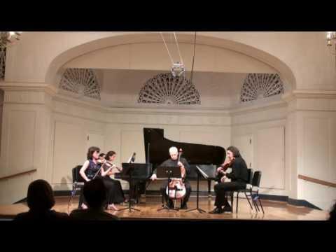 Brahms, Piano Quartet in G minor, IV,Irina Morozova, Alla Aranovskaya,Boris Vayner, Leonid Shukaev,