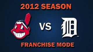 MLB 2K12: Cleveland Indians vs. Detroit Tigers