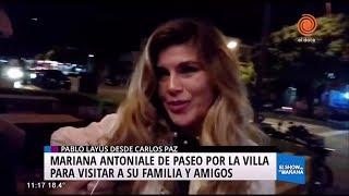 La visita de Mariana Antoniale a Carlos Paz
