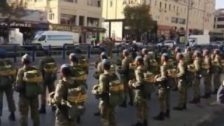 Kayseri 1. Komando Tugayı askerleri PKK'ya gözdağı verdi