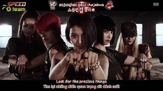 [Vietsub + Engsub + Kara] F(x) (에프엑스) - Red Light {MELON HD}