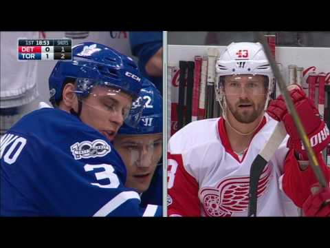 Mrazek fuming as former Red Wing Marchenko scores on potential interference