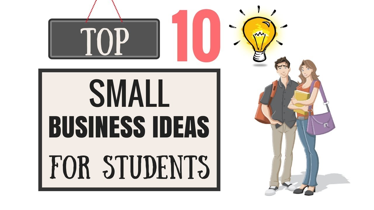 Small Business Ideas For Students In India
