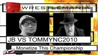 JB VS TommyNC2010 Monetize This Championship (WWE Promo Parody)