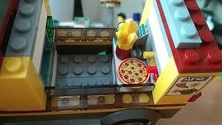 Набор Лего Сити 60150 Фургончик пиццерия