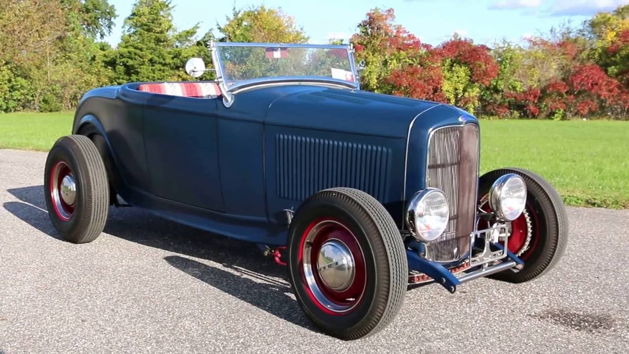 Only 12 995 Webe Autos Reviews A 1932 Ford High Boy Roadster