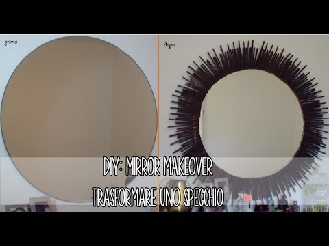 Diy mirror makeover home decor maison du monde youtube - Maison du monde cheque cadeau ...