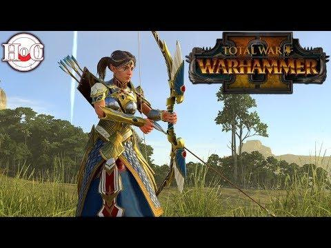 Bretonnia vs High Elves - Total War Warhammer 2 - Online Battle 37