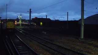 Virgin Trains Double Voyager passing Wapping sidings