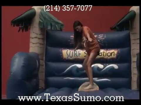 Malibu Robo Surfer - Dallas, TX Party Rental