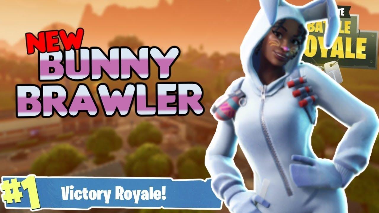 New bunny brawler easter skin fortnite battle royale youtube - Fortnite bunny brawler ...
