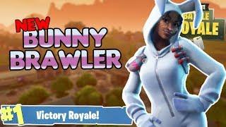 NEW BUNNY BRAWLER EASTER SKIN! - Fortnite Battle Royale