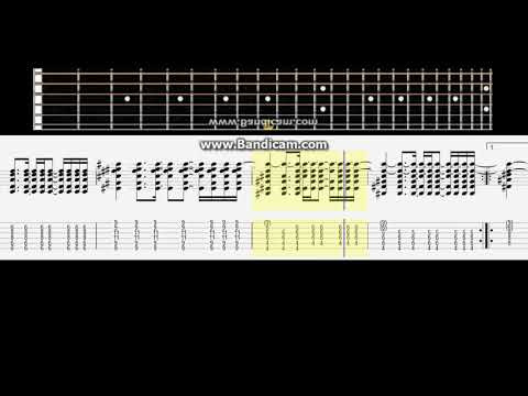 Staind Outside Acoustic Version Acousti Tabsc Guitar Lesson Note