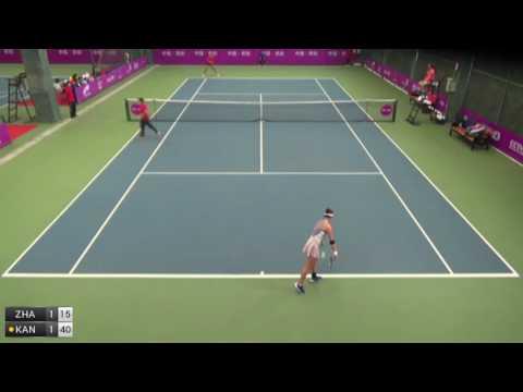 Zhang Ying v Kang Jia Qi - 2016 ITF Guiyang