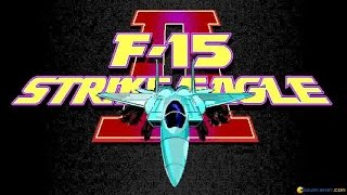 F-15 Strike Eagle II gameplay (PC Game, 1989)