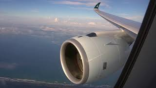 Cathay Pacific Airbus A350-900 XWB Aviation Music Video - Stunning sunrise colours!