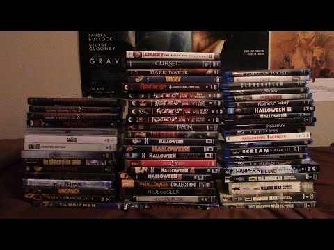 My ENTIRE Horror Movie Collection on BluRay and DVD
