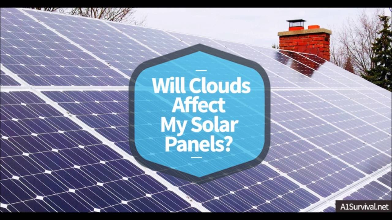 Image result for effects of clouds on a solar panel