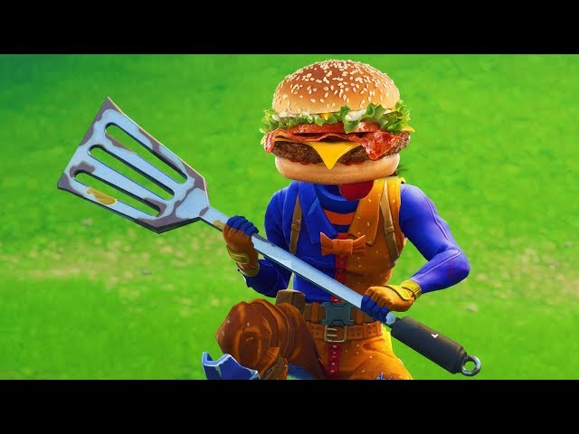 SOY UNA HAMBURGUESA | FORTNITE: Battle Royale