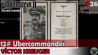 Wolfenstein 2 The New Colossus | #12 Ubercommander | Victor Kreuger | Sin comentarios