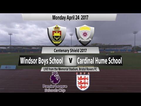 U16 Premier League Schools' Cup for Boy 2016/17 - Windsor Boys vs. Cardinal Hume CS