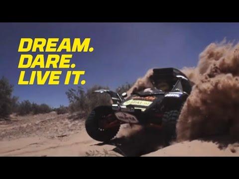 Dream. Dare. Live it. - Dakar 2018