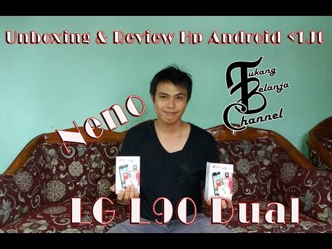 Unboxing & Review LG L90 (Android Dibawah 1Jt)