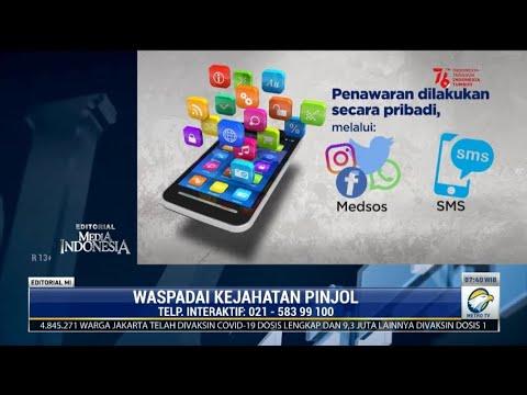 Download Bedah Editorial MI: Waspadai Kejahatan Pinjol