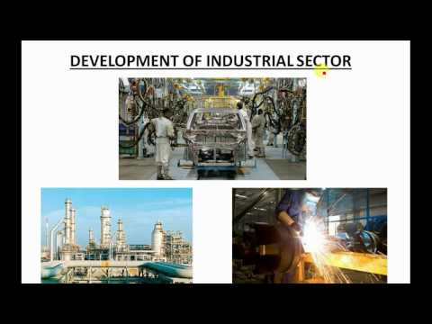 Indian economy - development of industrial sector - UPSC - P