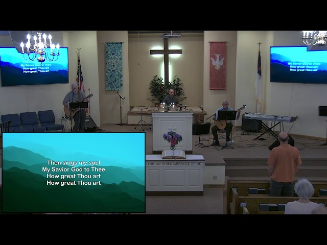 Calvary Baptist Church Sunday, 25 July, 2021