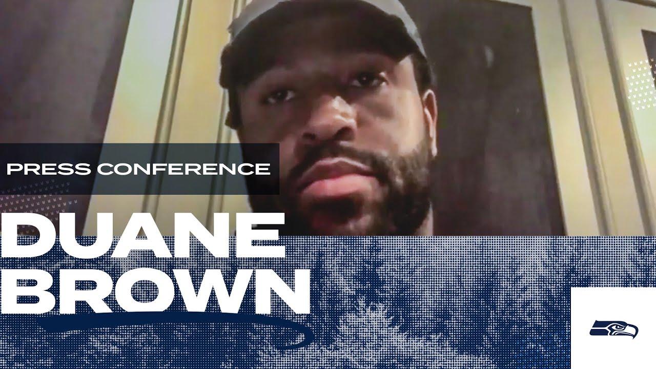 Duane Brown 2020 Offseason Press Conference