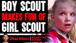 Boy Scout MAKES FUN Of GIRL SCOUT (Behind-The-Scenes) | Dhar Mann Studios