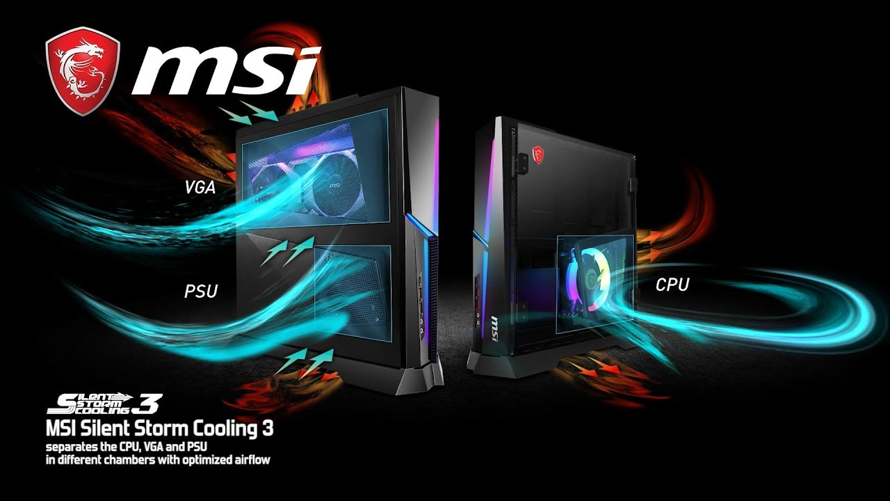 Trident X Silent Storm Cooling 3 | Gaming Desktop | MSI