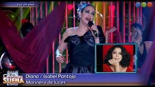 Diana Amarilla es Isabel Pantoja - Tu Cara Me Suena 2015