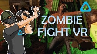 ENTRENAMIENTO PARA APOCALIPSIS | ZOMBIE FIGHT VR | HTC VIVE GAMEPLAY