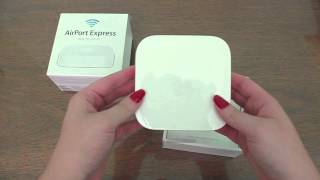Unboxing NOVA AirPort Express Apple