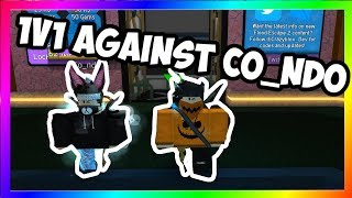 1v1 AGAINST CO_NDO! | Roblox Flood Escape 2