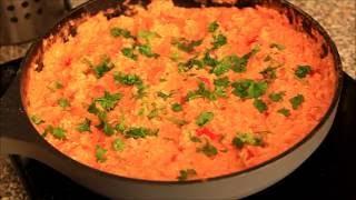 Яичница с помидорами и паприкой по турецки на завтрак