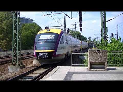 Trein en tram in Dresden