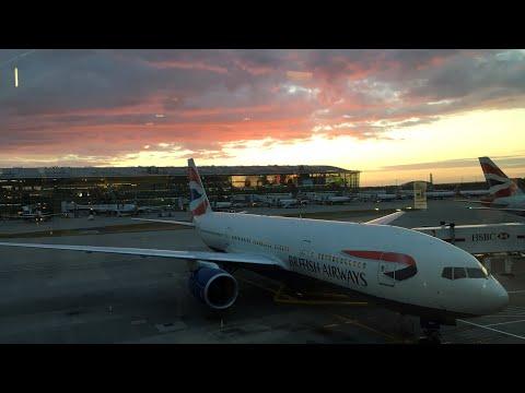 British Airways First Class Manchester - London - Singapore - Sydney - Auckland