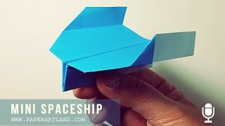 COMING BACK PAPER PLANES - Instrucción Avión De Papel | Mini SpaceShip