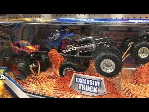 Off The Pegs: Exclusive Avenger, new Overkill Evolution! Monster Jam Truck in 2018 Smash Up Stadium