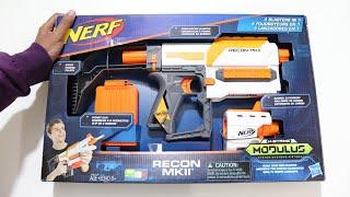 Nerf Modulus Reckon MK2 Unboxing &amp Firetest  Chatpat toy tv