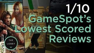 1 Out of 10: The Worst Games Ever Reviewed by GameSpot - The Lobby thumbnail