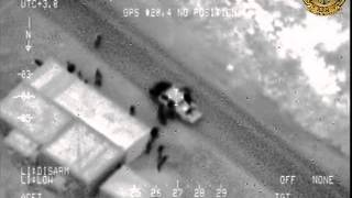 قصف تجمع لجرذان داعش