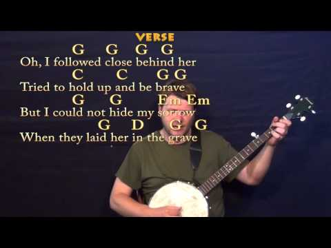 Will the Circle Be Unbroken (GOSPEL) Banjo Cover Lesson with Chords / Lyrics