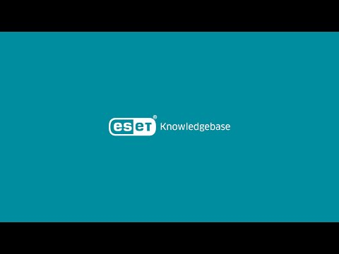ESET AV Remover—List of removable applications and instructions to