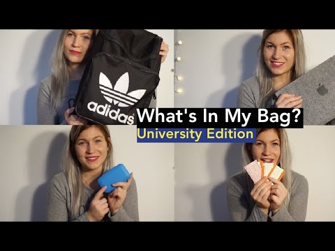 What's In My Uni Bag? | University Guide